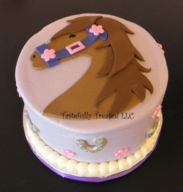 Horse Cake: maybe for Anna's birthday