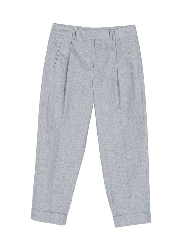 QL2 - NORMA COTTON FIL A FIL CARROT STYLE PANT  ( The show must go.) #women's #fashion