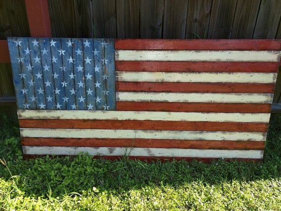 Check out this item in my Etsy shop https://www.etsy.com/listing/273054180/large-american-flag-32x58