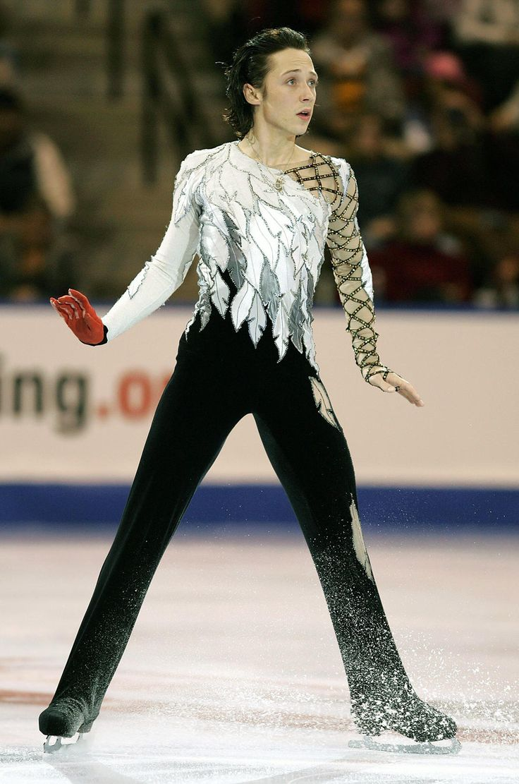 Johnny Weir. And on top of the gorgeousness, he figure skates. *dies*