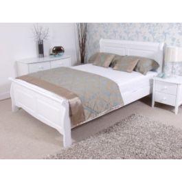 Sleep Emporium // Caprice White Wooden Bed Frame - $269.00