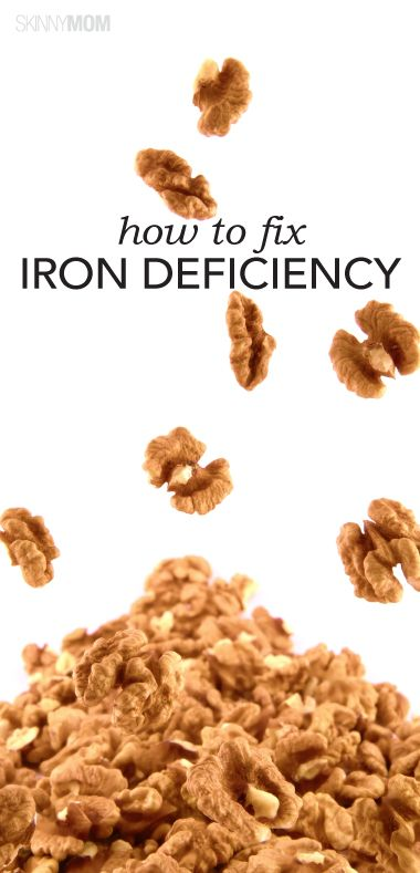 how to fix iron deficiency
