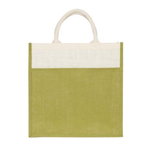 Double Colour Kanvas Shopper Bag