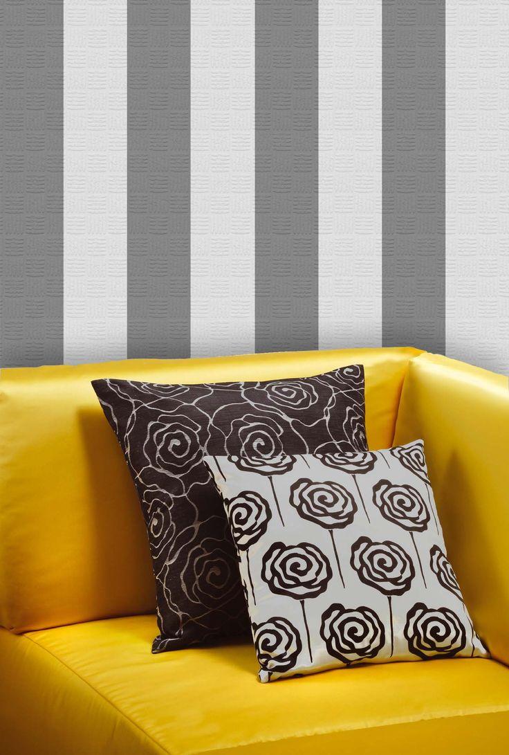 Empapelado rayas - Papel de parede