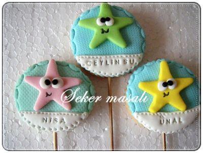 şeker hamurlu doğum günü kurabiyeleri | Şeker Masalı