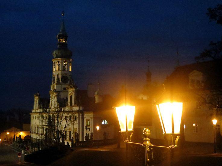 Loreta is a large pilgrimage destination in Hradčany, a district of Prague, Czech Republic