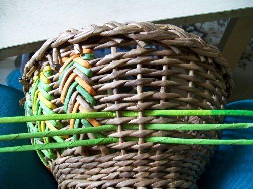 Плетение из газет - Плетение из газет и другие рукоделия - Тема: Маргаритки (галерея margolina) (115/115)