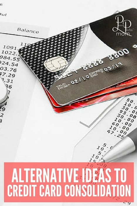 don't consolidate your credit card debt -- do it the right way.  Tips to help you get out of debt!