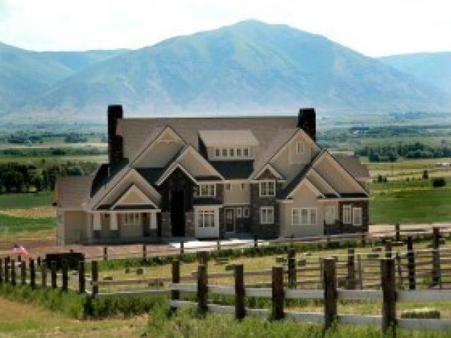 classy farm house