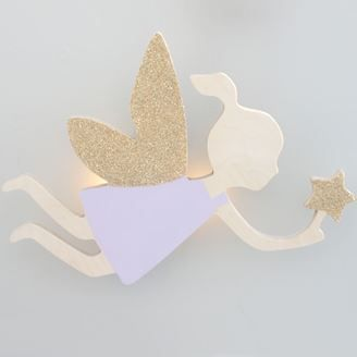Our Fairy night light gives of a soft glow to give your child sleep soundly with the light on