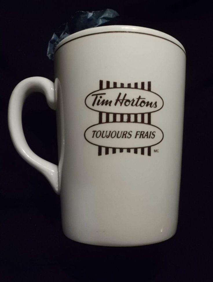 TIM HORTONS MUG - ENGLISH AND FRENCH
