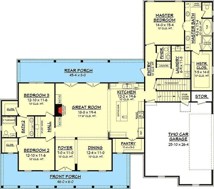 138 best house plans over 2 000 sq ft images on for 110 square feet room