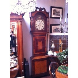 antieke Engelse staande klok  Schitterende Engelse staande klok, oftewel grandfathersclock.