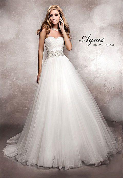 Elegant wedding gowns from Agnes Bridal