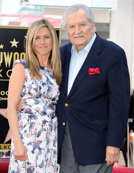 Jennifer Aniston and her dad, actor John Aniston