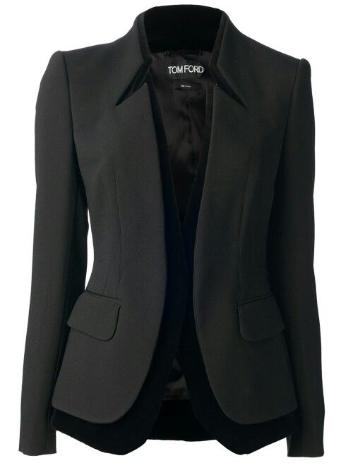 double lined blazer.