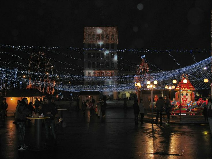Children friendliest places in Romania ~ Romania Tours New year scene in the small town of Focsani