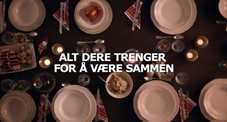 """""""All you need to be together """" Jul på IKEA - Soon it will be Christmas and Ikea has a cute commercial showing the cozy spirit of the season. I just love the music too, it is nice to see a Christmas commercial that is not Jingle ..."""