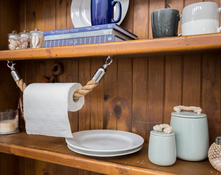 Seil-Handtuchhalter Rack handgemachte Manila von JackTarsLocker
