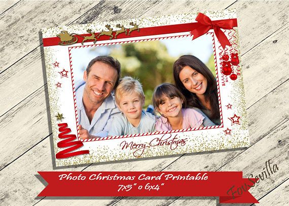 He encontrado este interesante anuncio de Etsy en https://www.etsy.com/es/listing/557649068/christmas-card-christmas-card-with-photo