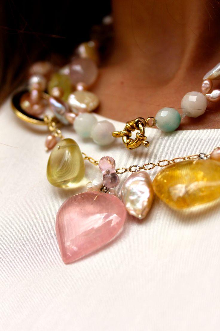 #Unpocodecorazón #collar #colección #ElenaUrrutia #mujer #Elegante