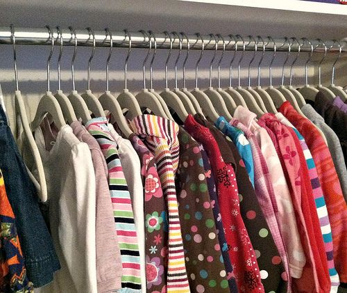 How I Store and Organize All Our Baby Clothes - This is a GREAT system!!!