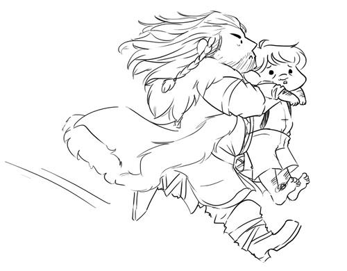 gonna take my hobbit and run
