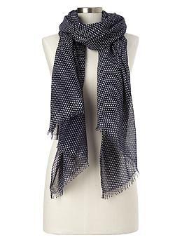 dot scarf / gap