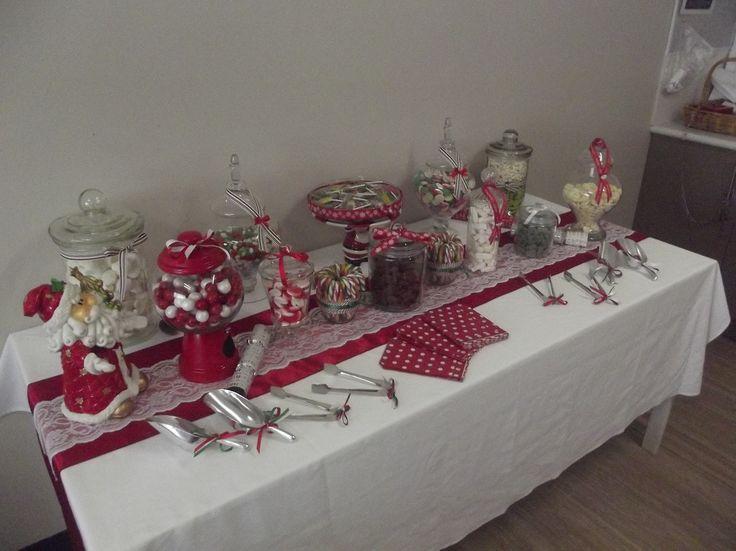 Santa Table...12kilos 80 lolly pops - $250...