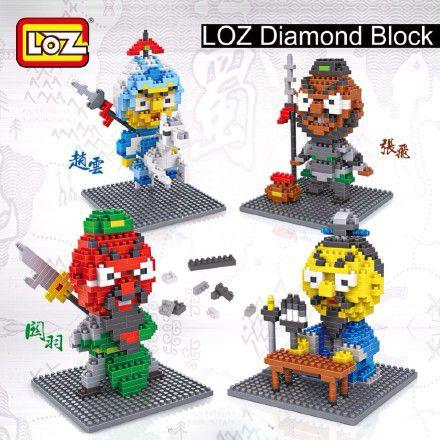 LOZ Legend of Three Kingdoms Series dimond block #loz #nanoblock#dimondblock