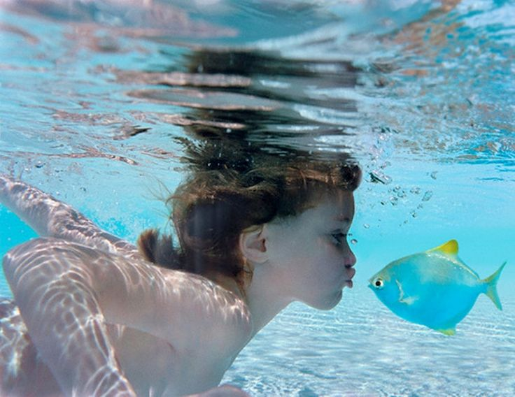 Love is love :): Photos, A Kiss, The Kiss, Underwater Photography, Children, Sea, Fish Kiss, Kids, Kisses