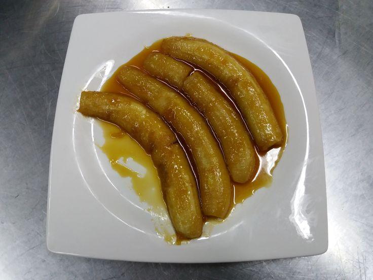 "Banana Frita ""Au Cognac"""