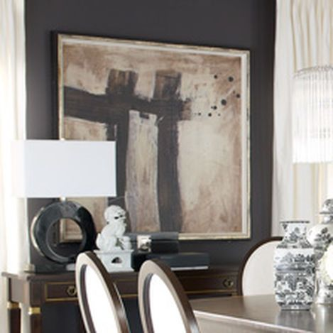 Sophistication Reigns Dining Room | Ethan Allen