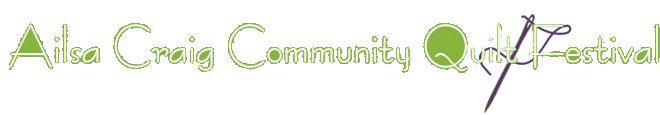 Ailsa Craig Community Quilt Festival Text