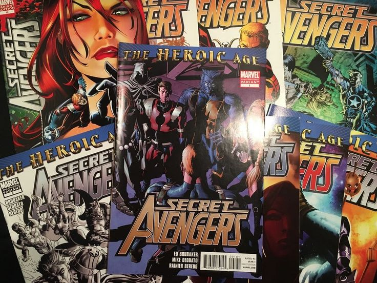 """Secret Avengers is an American comic book series published by Marvel Comics featuring a fictional black ops superhero team of the same name. The series is part of the Avengers-line relaunch as part of the """"Heroic Age"""".   eBay!"""