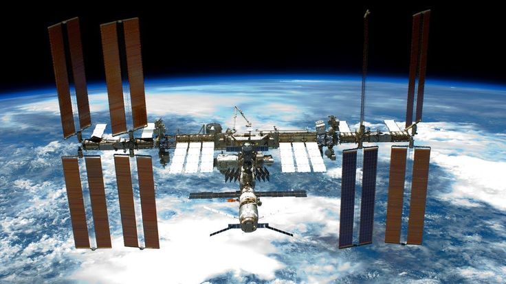 NASA/ESA International Space Station ISS Live Earth View With Tracking D...