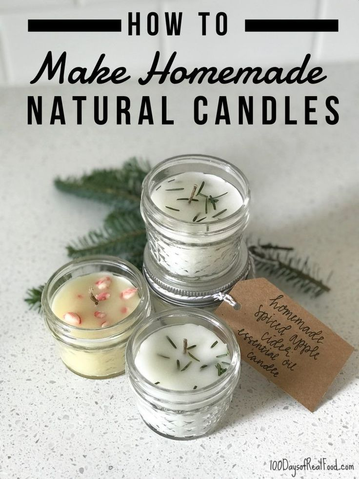 How to Make Homemade Natural Candles