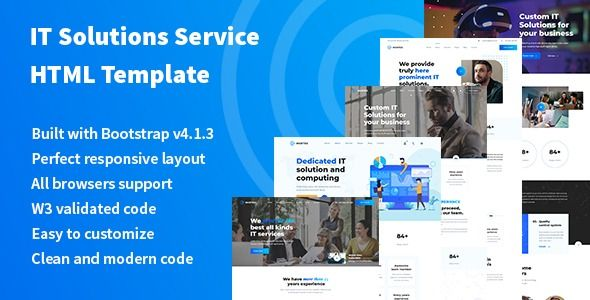 Murtes It Solutions And Services Company Html Template Stylelib Html Templates Templates Solutions