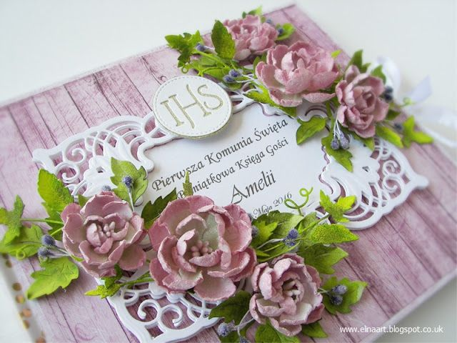 Elina Cardmaking Hobby: Guest Book