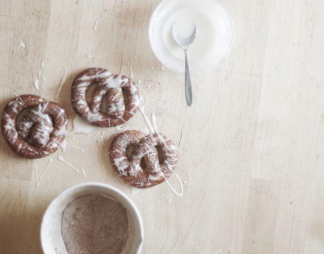 Cinnamon Sugar Pretzels by TheSophisticatedGourmet, via Flickr