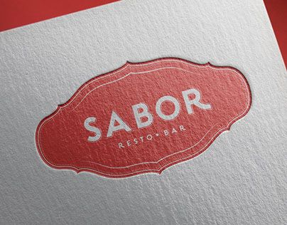 "Check out new work on my @Behance portfolio: ""Sabor Resto Bar"" http://be.net/gallery/33989282/Sabor-Resto-Bar"