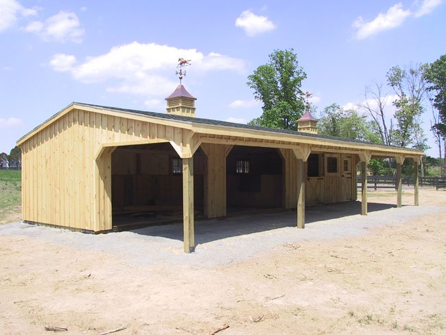 1000 images about horse lean to on pinterest stables for Lean to dog house plans