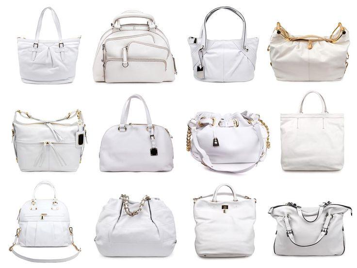 Handtasche weiß, wer weiß!? Die Farbe ist nicht jederfraus Sache