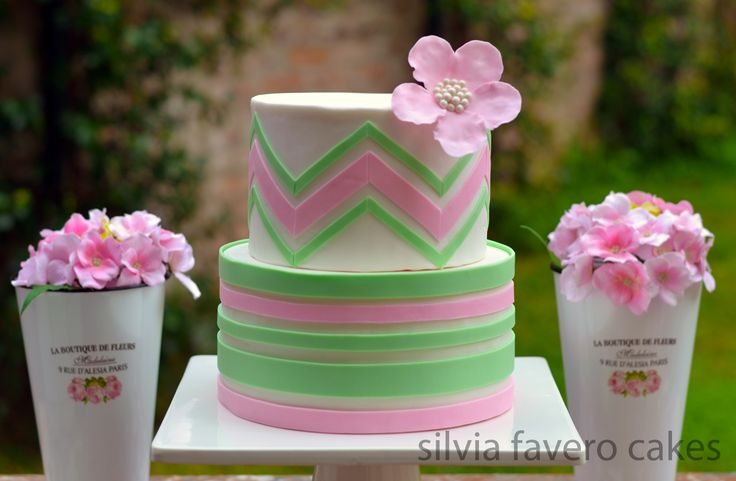 125 best images about tortas de silvia favero cakes - Rayas horizontales ...