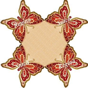 ΠΕΤΑΛΟΥΔΕΣ  Τυπωμένο με χρώμα σε μπεζ χρυσο'υ'φαντο εταμίν,διάσταση:90Χ90.Οταν τελειώσει το εργόχειρο,κόβεται ακριβώς στο τελείωμα απο τις πεταλούδες.!Τιμή
