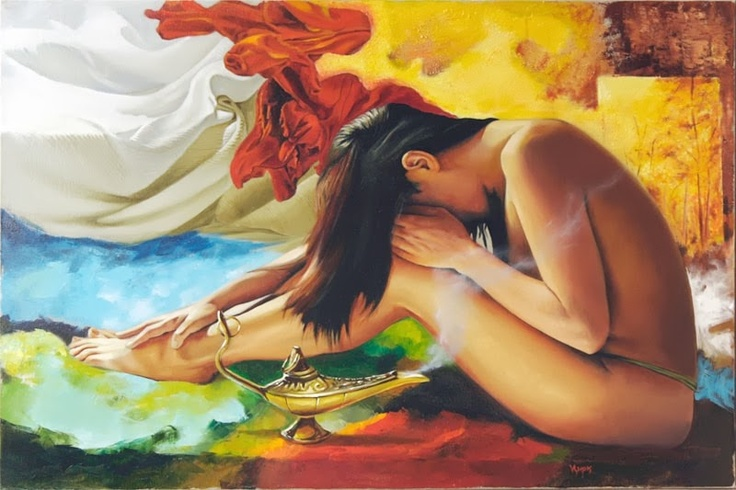 Fine Nude Of The Day - Painter Miroslav Yotov