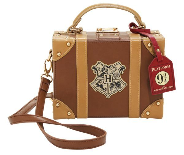 The 'Harry Potter' Hogwarts Trunk Crossbody Bag Has A Magical Power