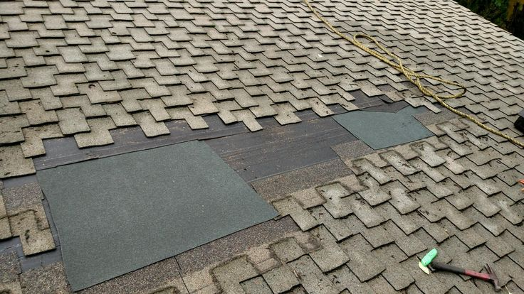 Composition Roof Cleaning and Repair