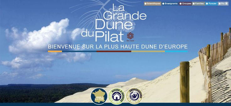 Site officiel de la dune du Pilat