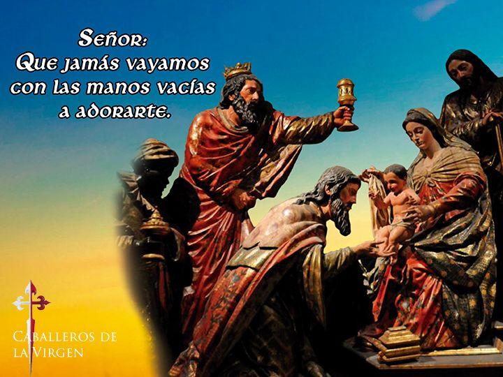 """Solemnidad de la Epifanía del Señor  La Epifanía es el 6 de enero pero en algunos países se celebra el domingo entre el 2 y el 8 de enero.  La Epifanía es una de las fiestas litúrgicas más antiguas más aún que la misma Navidad. Comenzó a celebrarse en Oriente en el siglo III y en Occidente se la adoptó en el curso del IV. Epifanía voz griega que a veces se ha usado como nombre de persona significa """"manifestación"""" pues el Señor se reveló a los paganos en la persona de los magos.  Tres…"""
